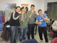 Los ganadores de las napolitanas