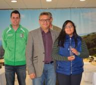 Jhesenia consiguió su merecido podium