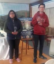 Los dos podiums del C.A. Coimbra