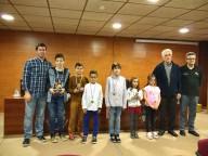 Premiados en las categorías infantiles