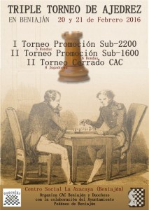 cartel triple torneo