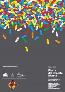 cartel fiesta del deporte