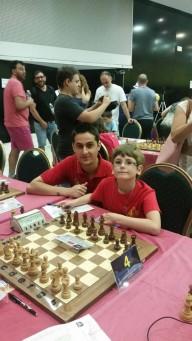 el MF José Lara y Carlos Molina Junior al pie del cañon!