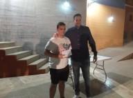 El local Alejandro Castellanos quedó 3º clasificado