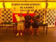 Pedro Pol, Pascual Castellanos y Alejandro Castellanos