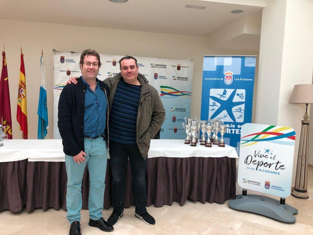 Carlos Javier Molina y Juanjo Jiménez, campeón y subcampeón del festival