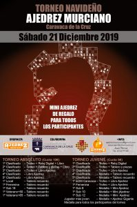 cartel-torneo-navideño-ajedrez-murciano-2019
